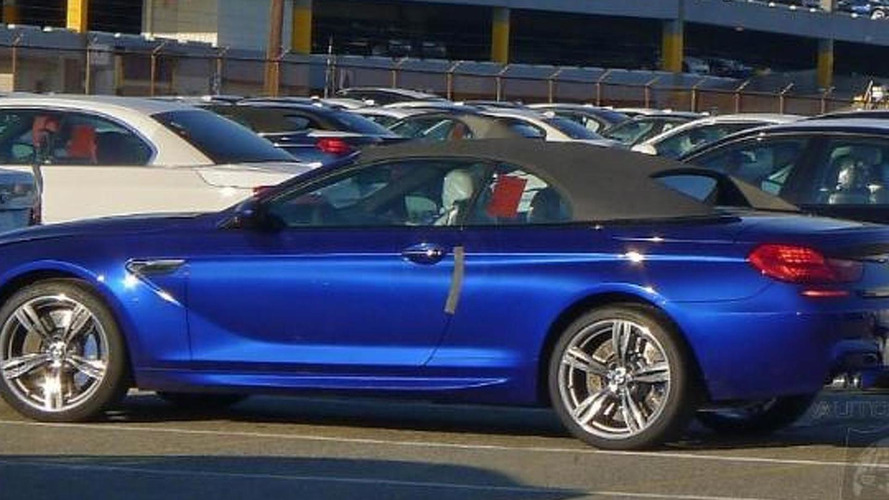BMW M6 Convertible caught undisguised