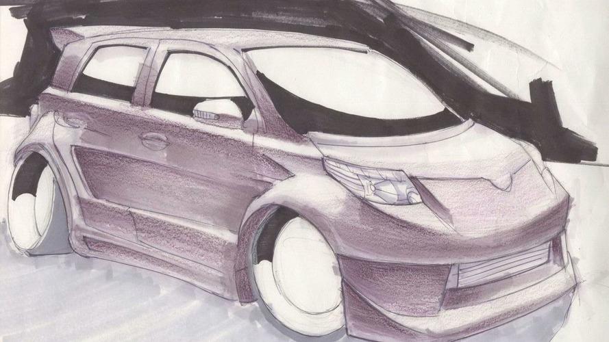 Scion xD Elite Concept by Team Auto at SEMA