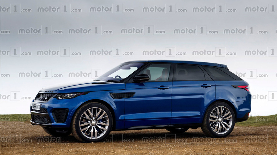 Range Rover Sport Coupe render won't leave you indifferent