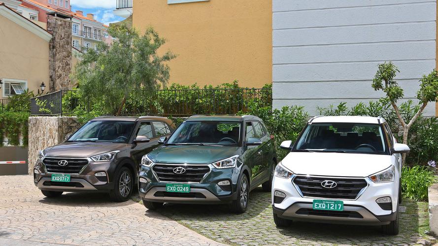 Hyundai Creta e Chevrolet Tracker começam com vendas