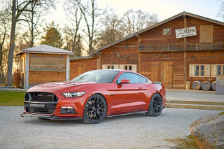 This 820HP Ford Mustang is as American as Bratwurst and Sauerkraut