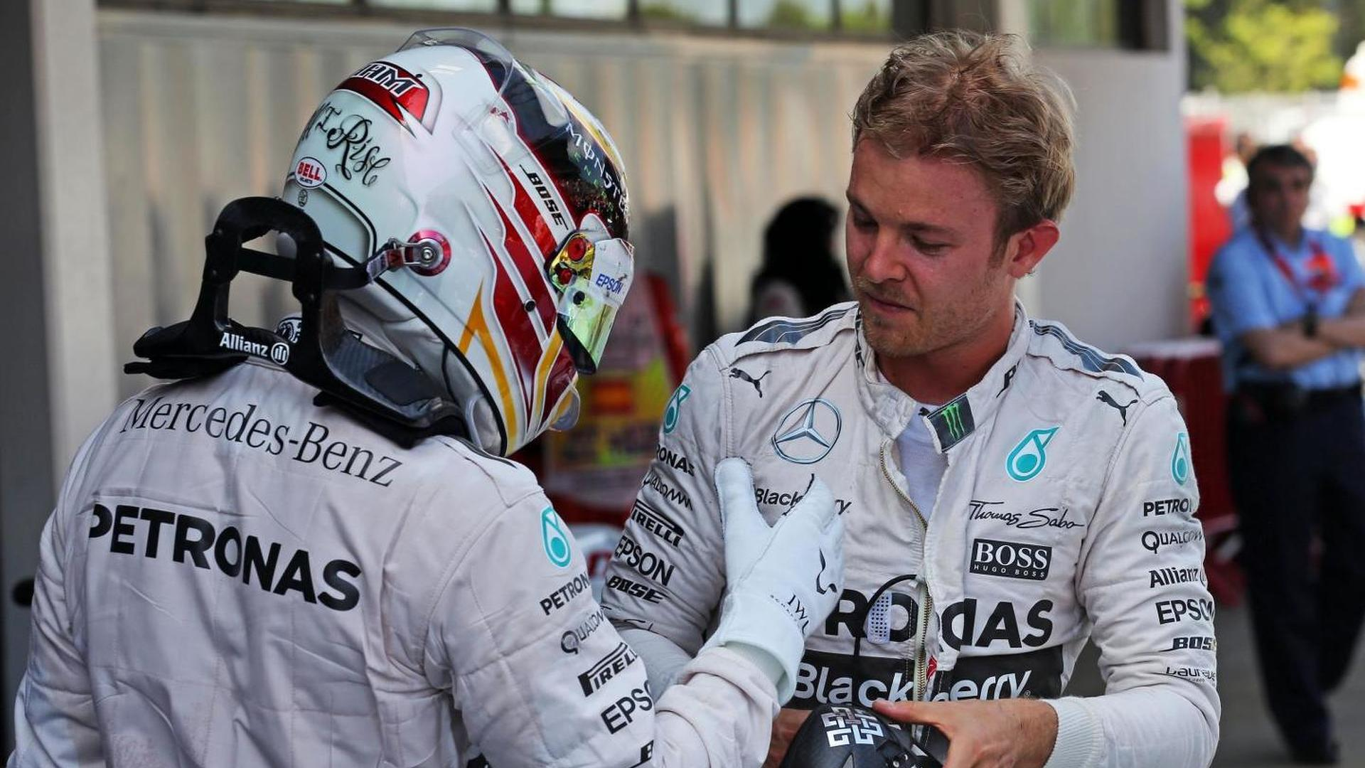 Rosberg happy if Hamilton signs new deal