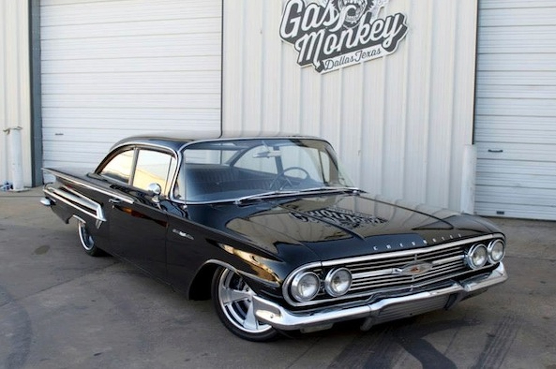 Gas Monkey Garage Builds One Big Bold Chevy Bel Air
