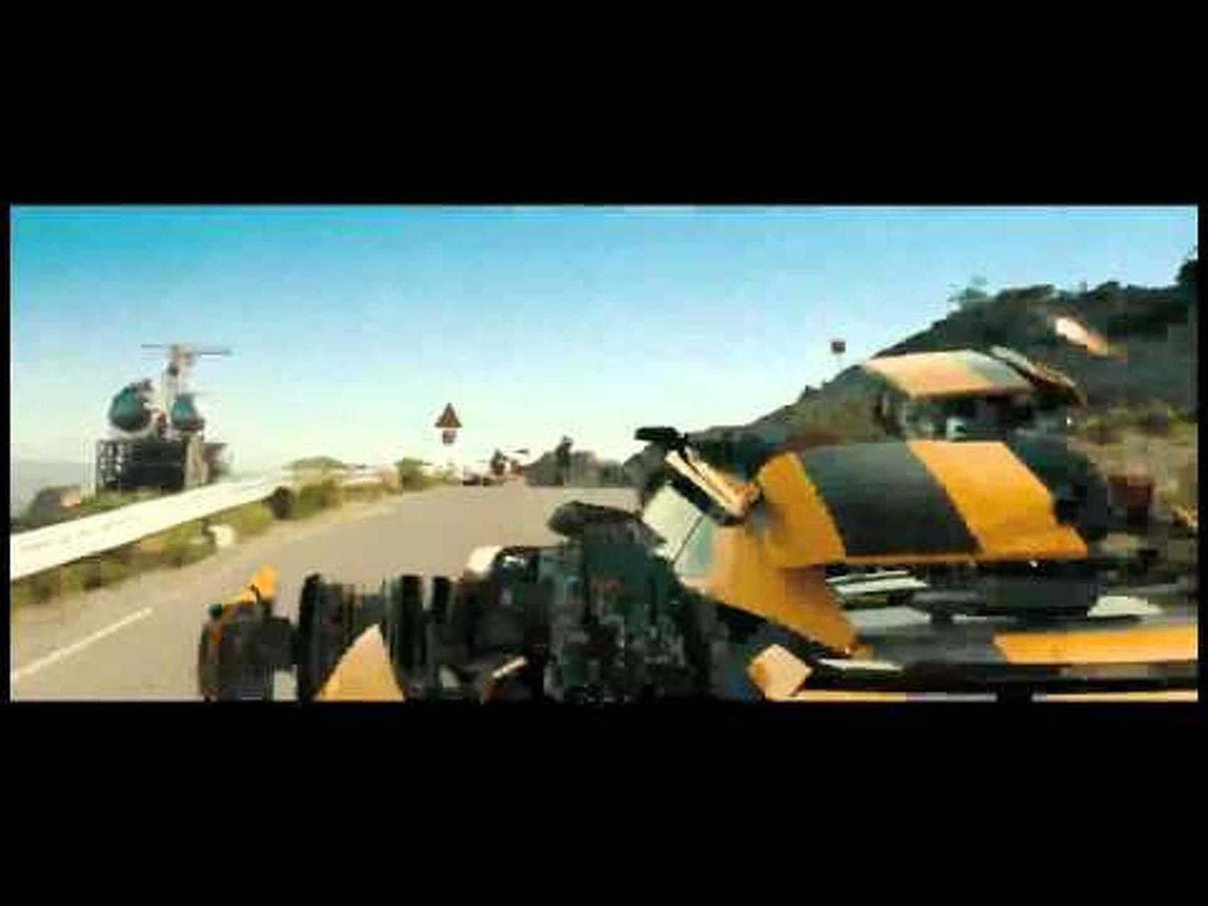 2012 Chevrolet Camaro Transformers Bumblebee Special Edition