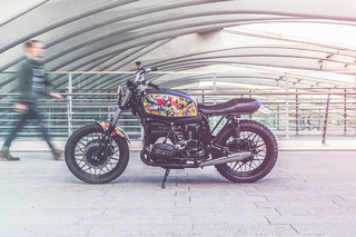 This Beautiful BMW R65 Art Bike Deserves A Spot In A Museum