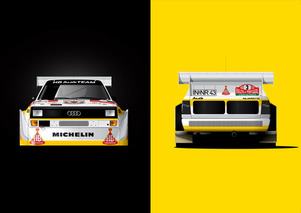 Rally Art: Gorgeous Car Art Celebrates Rally, F1 Racing