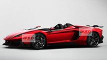 Lamborghini Aventador J Speedster leaked