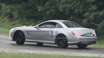 2013 Mercedes Benz SL63 AMG spy photos 31.01.2012