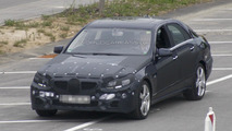 Mercedes E-Class facelift spied again