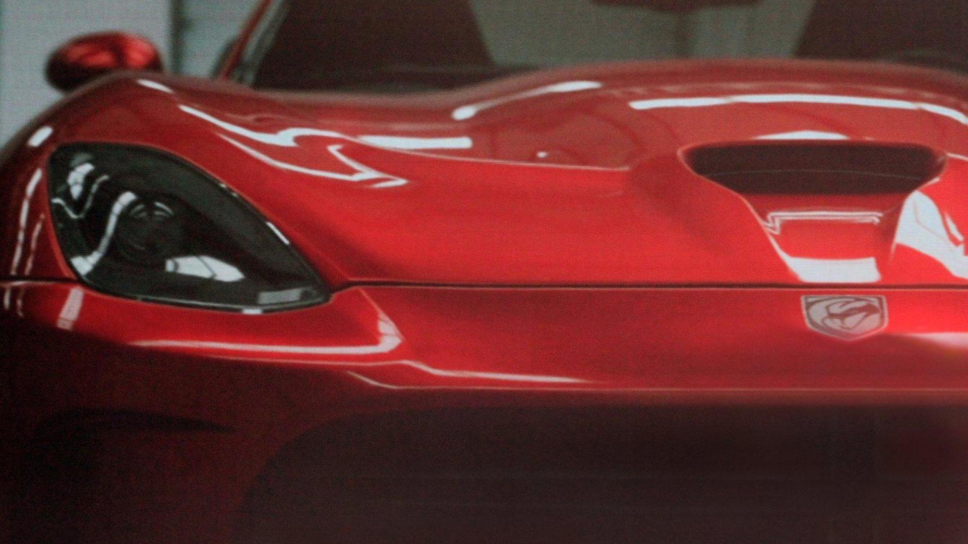 2013 SRT Viper leaked