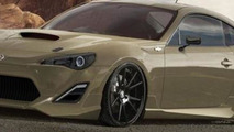 Three custom Scion FR-S heading to SEMA