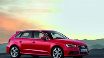 2013 Audi A3 Sportback makes an appearance in Paris