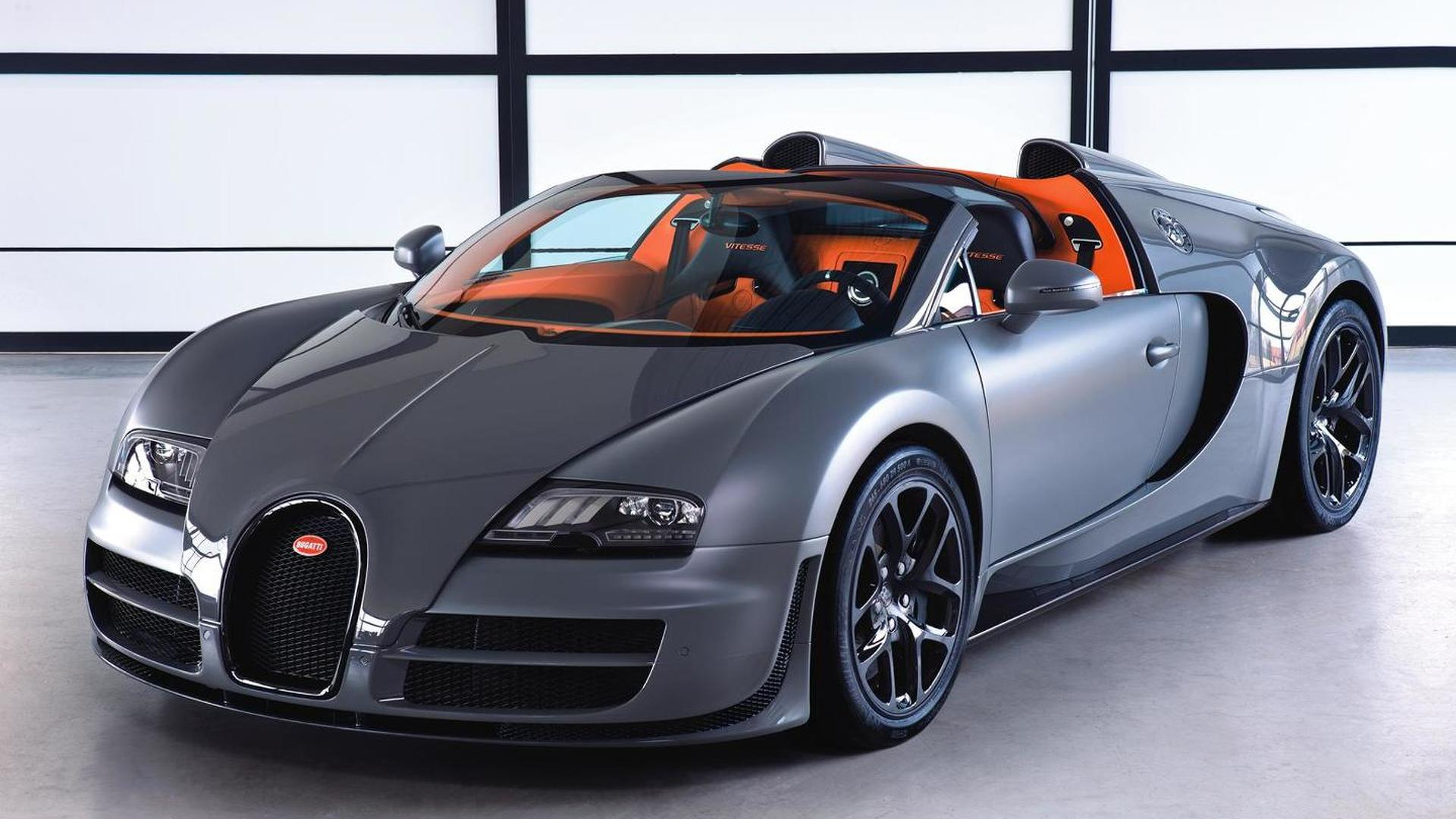 Bugatti Veyron Grand Sport Vitesse - new images & full specs released