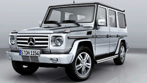 Power Increase for 2009 Mercedes G-Class