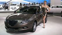Lancia Delta Disguised as Chrysler at 2010 NAIAS in Detroit