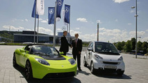 Daimler Announces Strategic Partnership with Tesla Motors