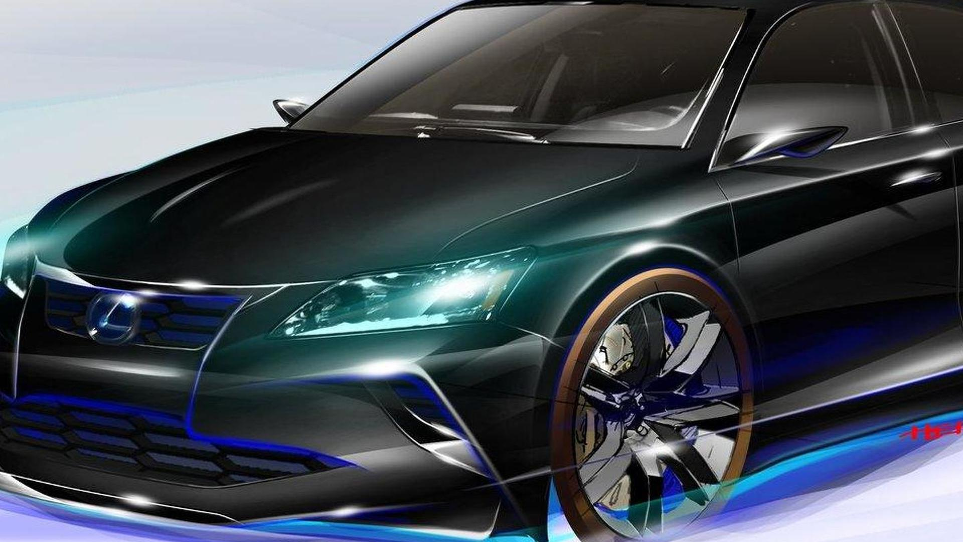 Lexus Project CT by Five Axis set for Chicago debut