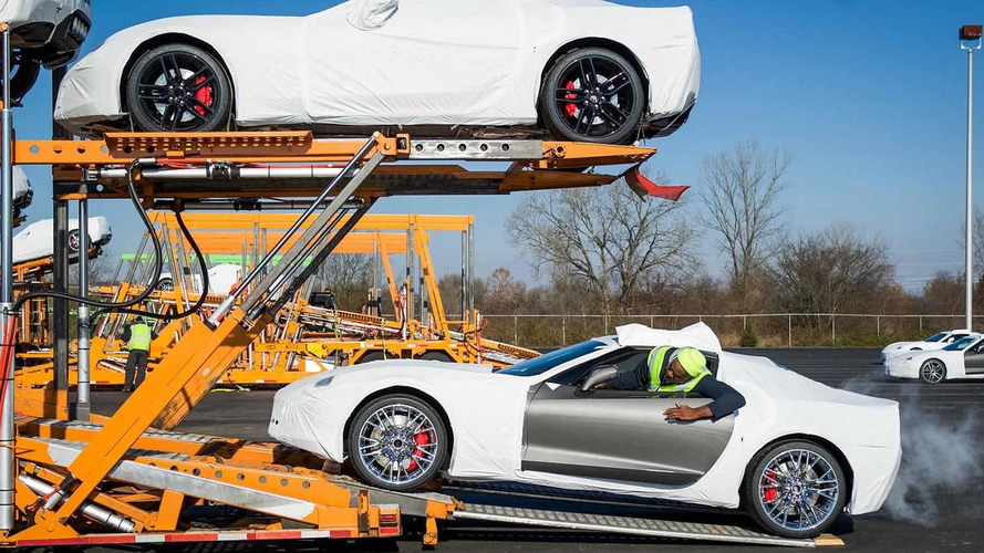 Chevrolet starts shipping the 2015 Corvette Z06 Coupe