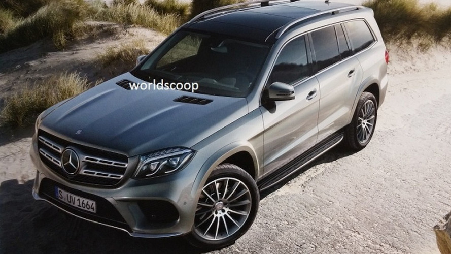 Mercedes-Benz GLS leaks continue as another official image hits the web