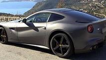 On-board video with Ferrari F12 Berlinetta around the French coast