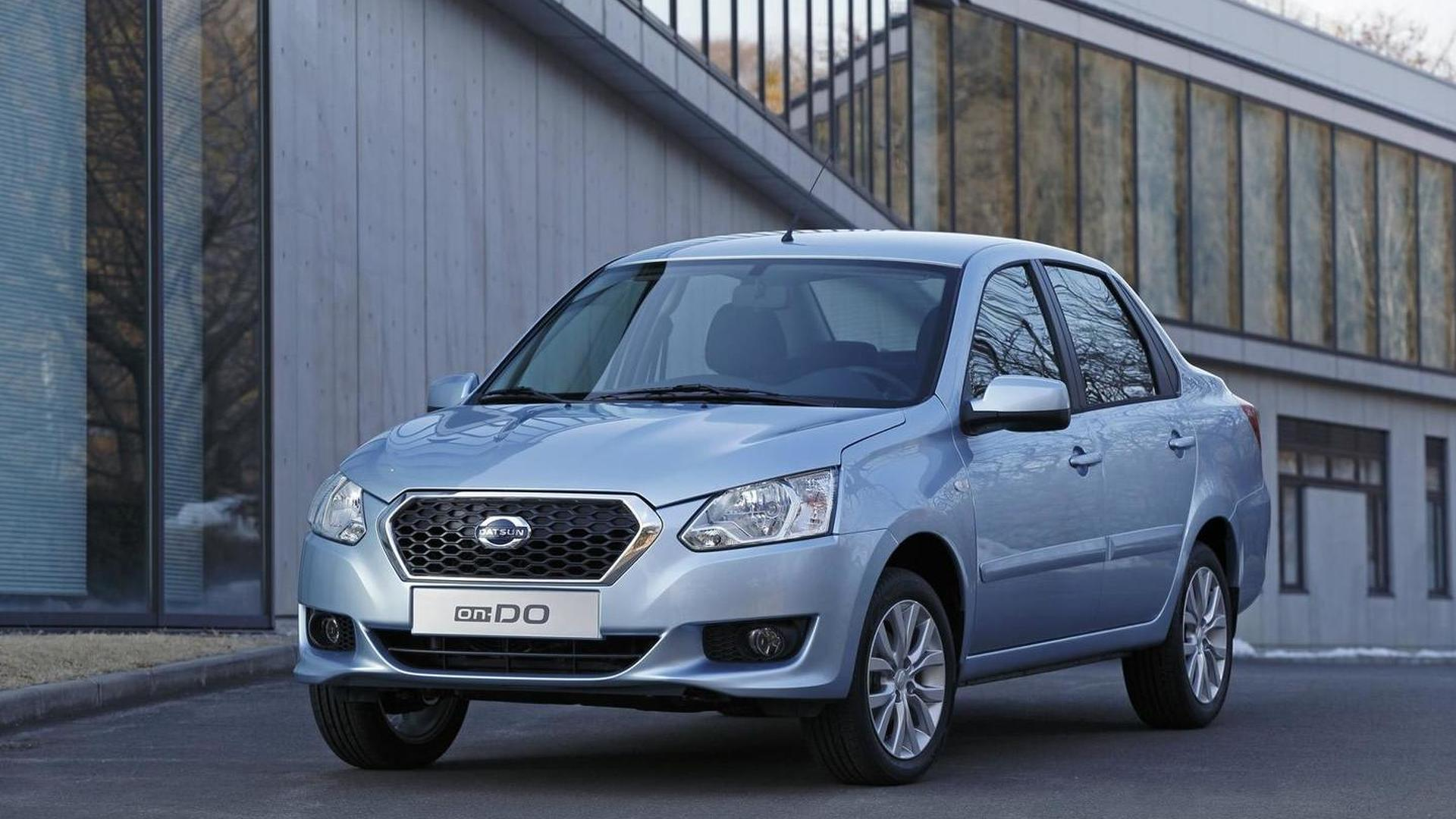 Datsun on-DO budget sedan launched in Russia