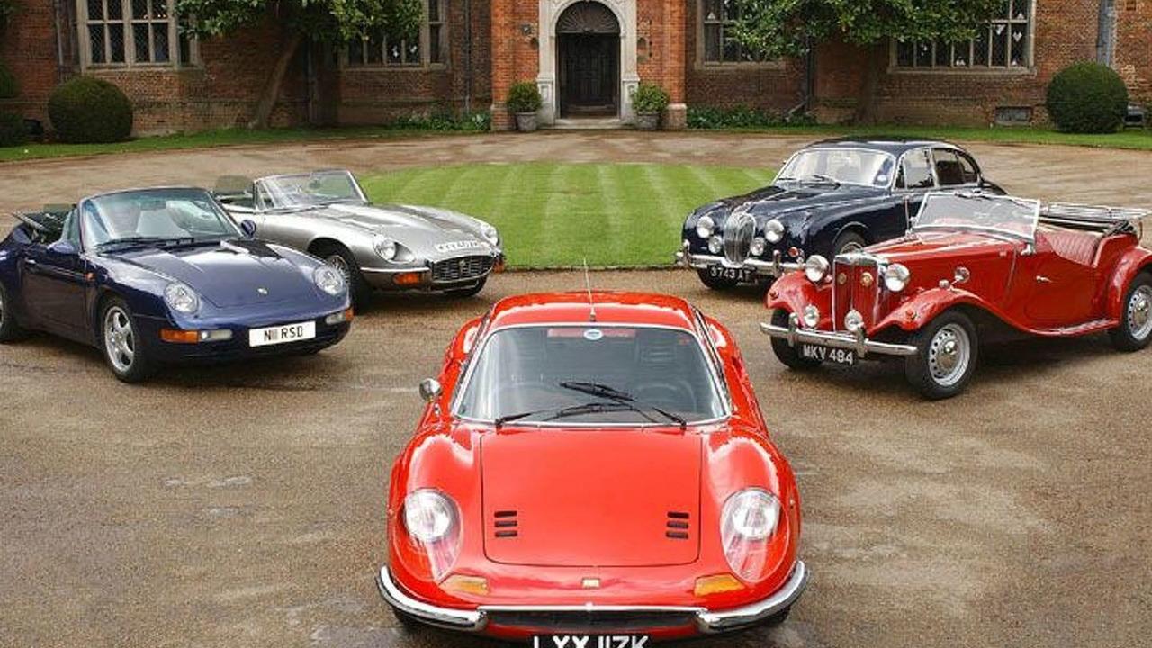 Parc Ferme classic cars