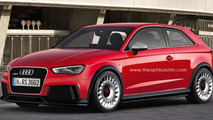 Audi RS3 speculative render