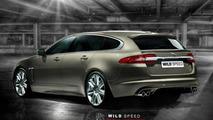 Jaguar XF Sportbrake design analysis - live in Geneva [video]