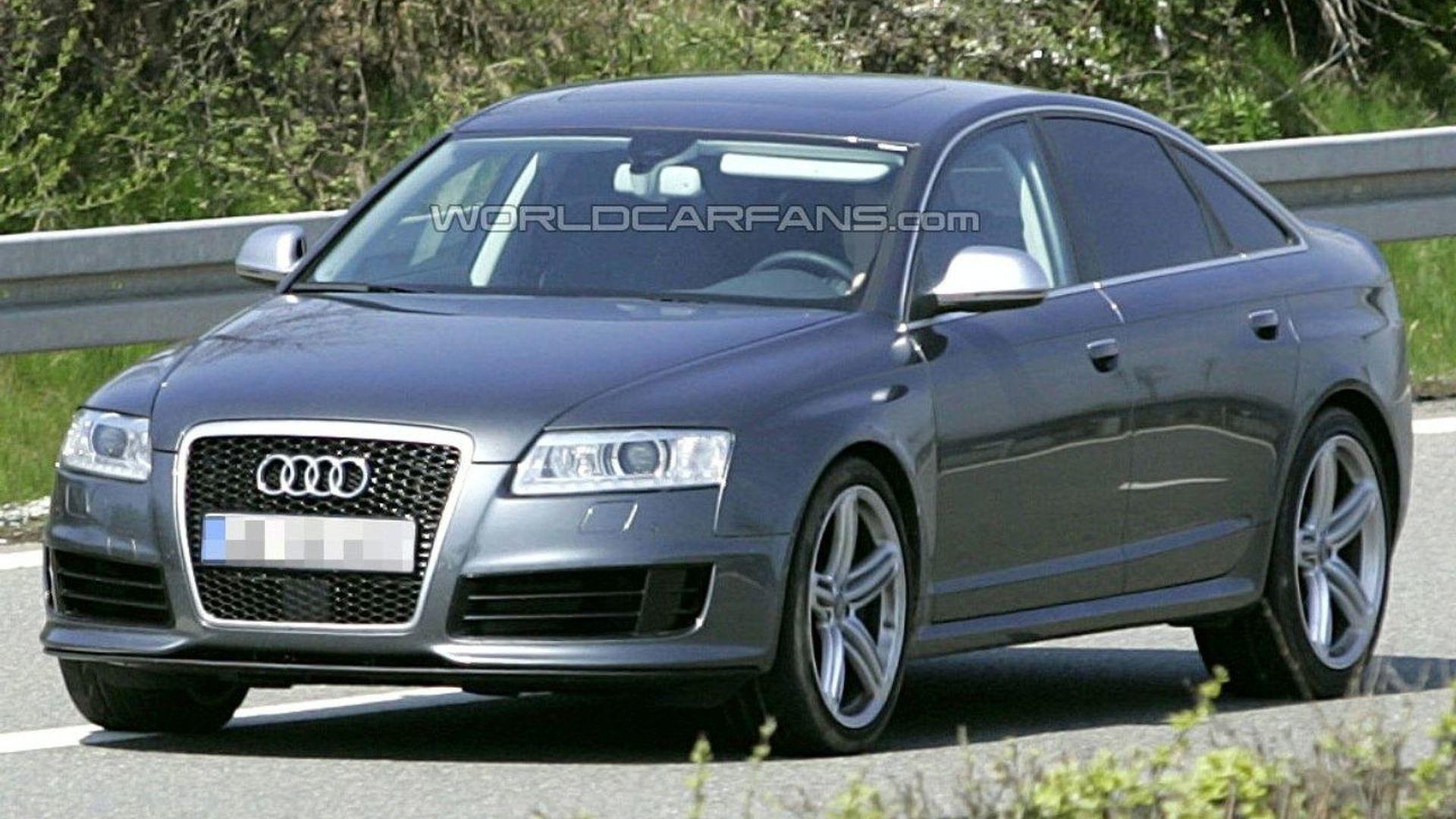 Audi RS6 Sedan Spied