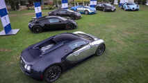 Bugatti Veyron Legends Editions together for one & only time