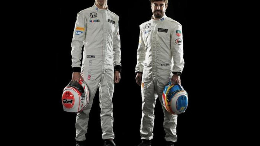 Button happy to be Alonso's teammate
