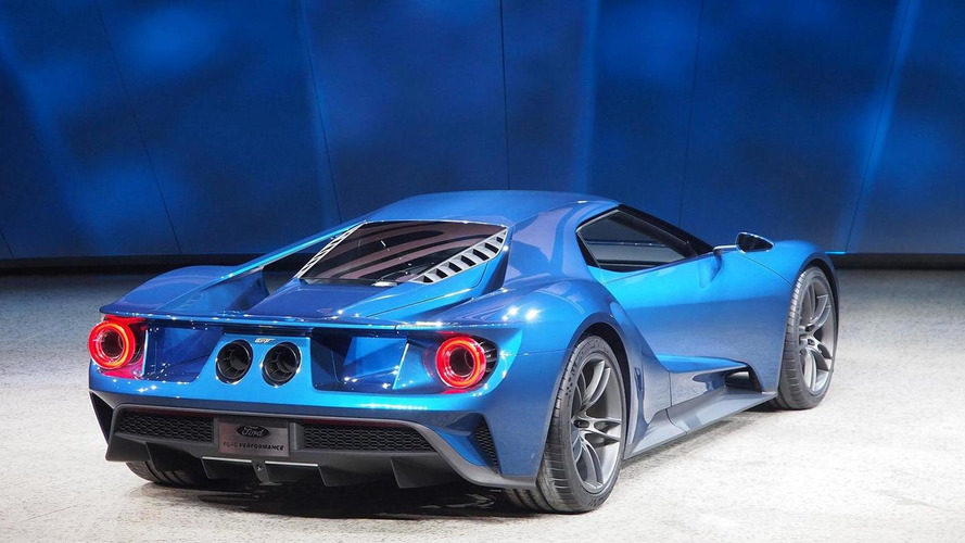 Ford GT breaks cover with 600+ bhp twin-turbo V6