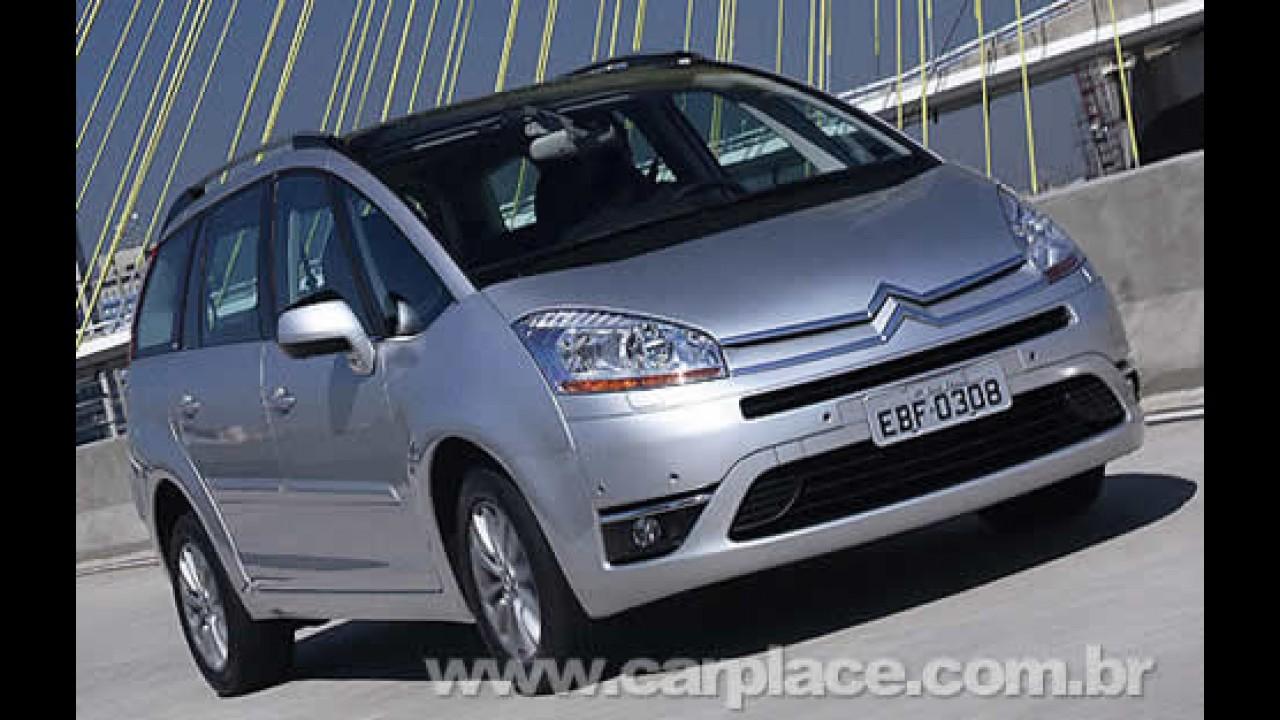 Peugeot convoca Recall para o 407 e Citröen para o C4 Grand Picasso
