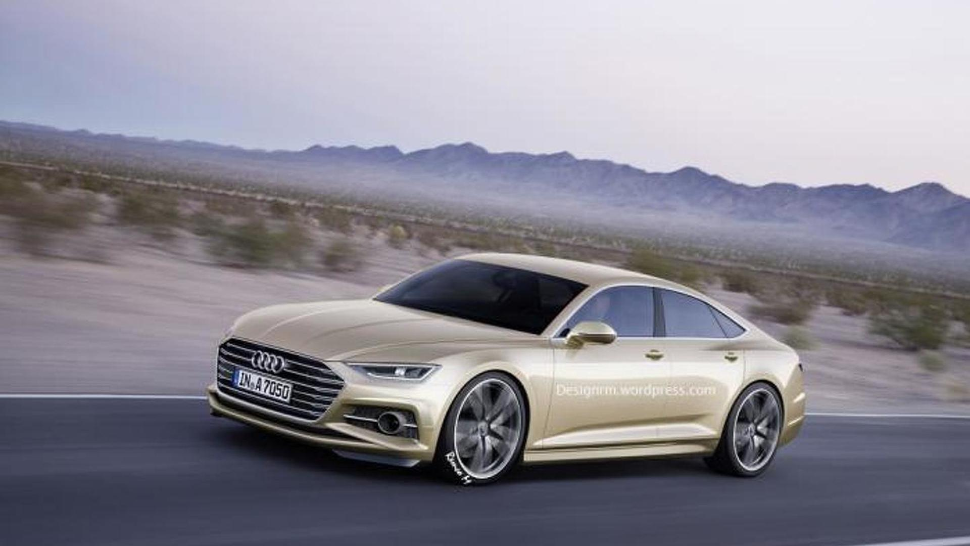 Next generation Audi A7 to sit lower and have a more expressive body