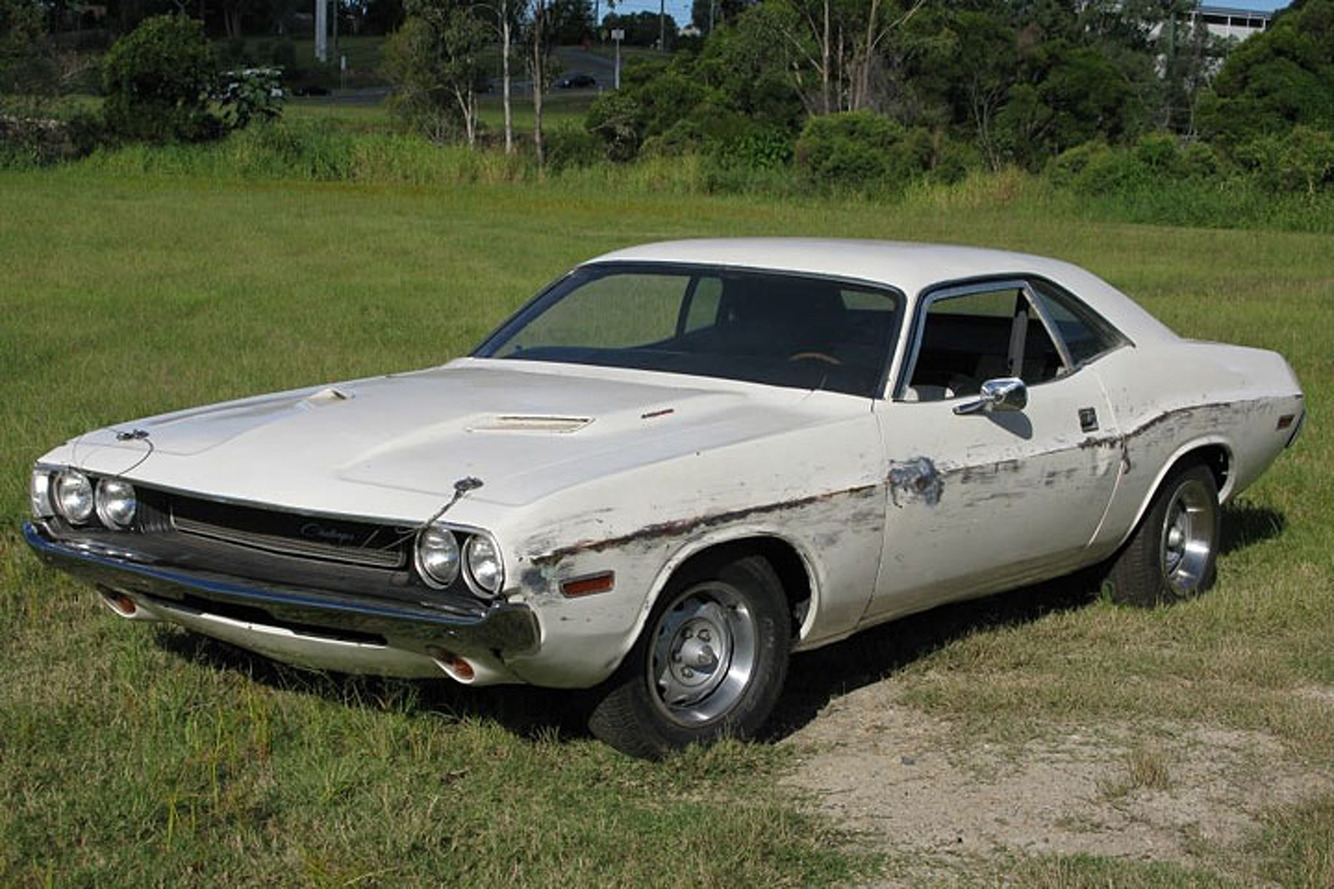 """Dodge Challenger from Quentin Tarantino's """"Death Proof"""" Hits eBay"""