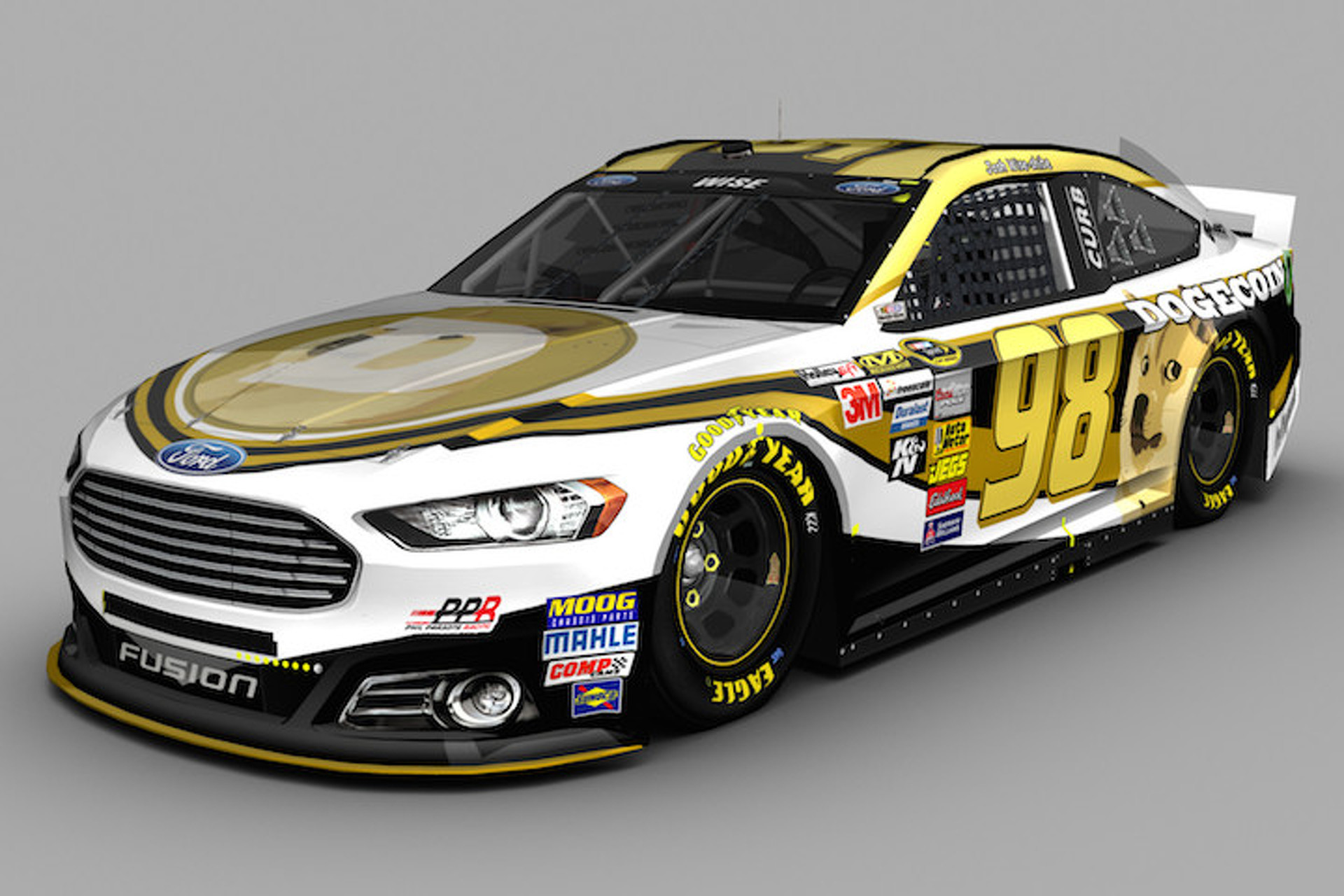 Reddit Raises $55K for Dogecoin-Sponsored NASCAR at Talladega [UPDATE]