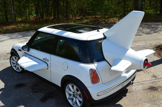 This Mini Cooper is the World's Slowest Plane