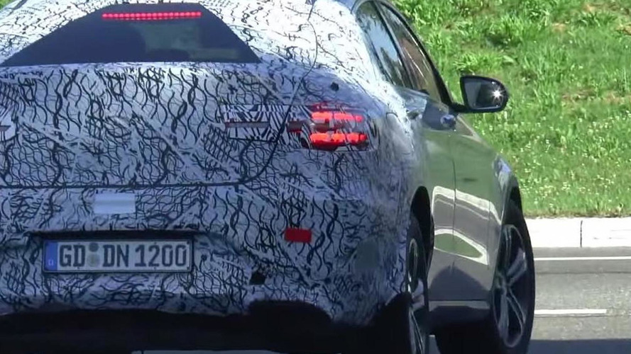 Mercedes-Benz GLC Coupe spied for the first time; looks as expected [video]