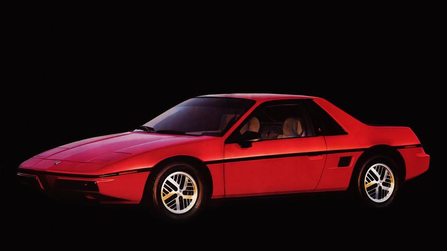 Worst Sports Cars: Pontiac Fiero
