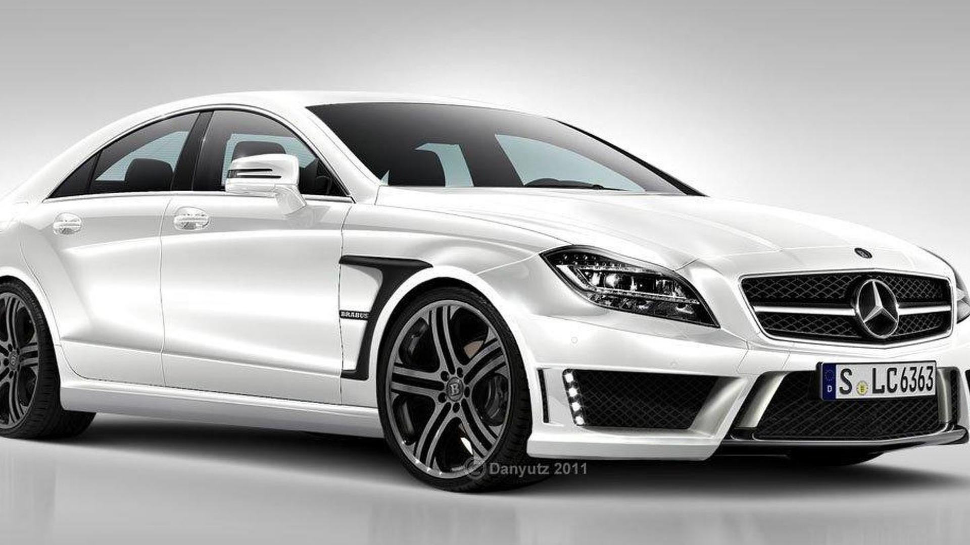 New Brabus Rocket is mystery teaser? - rendered speculation