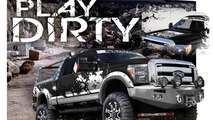 Skyjacker Suspensions Ford F-350 for SEMA