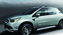 SsangYong SUT 1 concept teaser renderings 10.02.2011