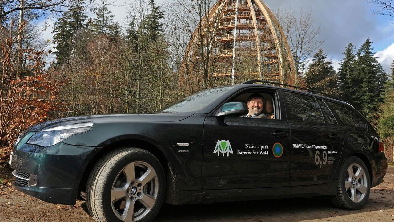 5,555,555th BMW 5-Series for Bavarian National Park