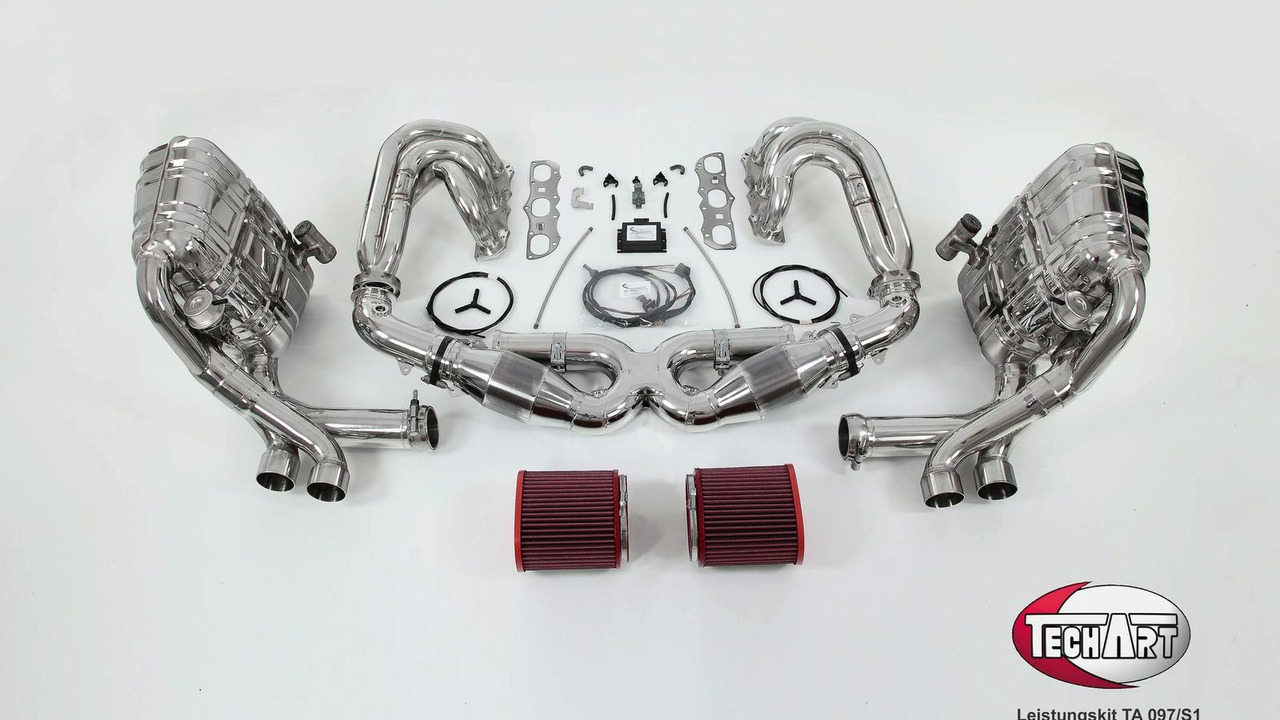 TechArt Power kit TA 097/S1 for Porsche 997 facelift