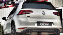 Volkswagen Golf GTI tuned to 308 HP by HG Motorsport [video]