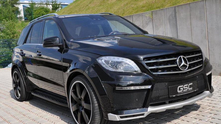 German Special Customs introduces a widebody kit for the Mercedes ML
