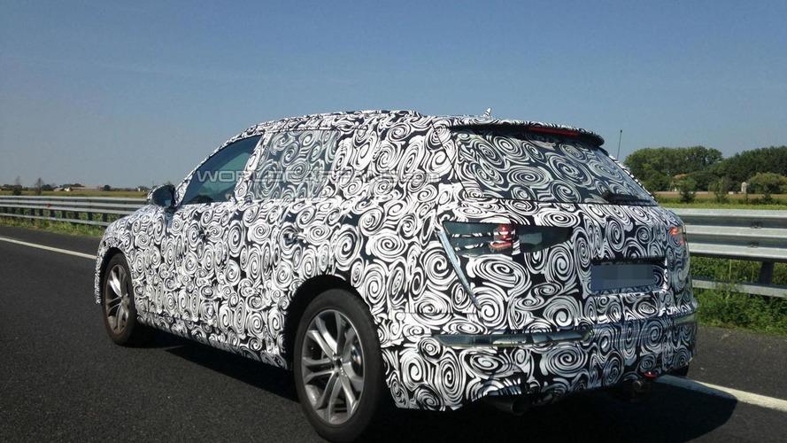 2015 Audi Q7 spied in Europe