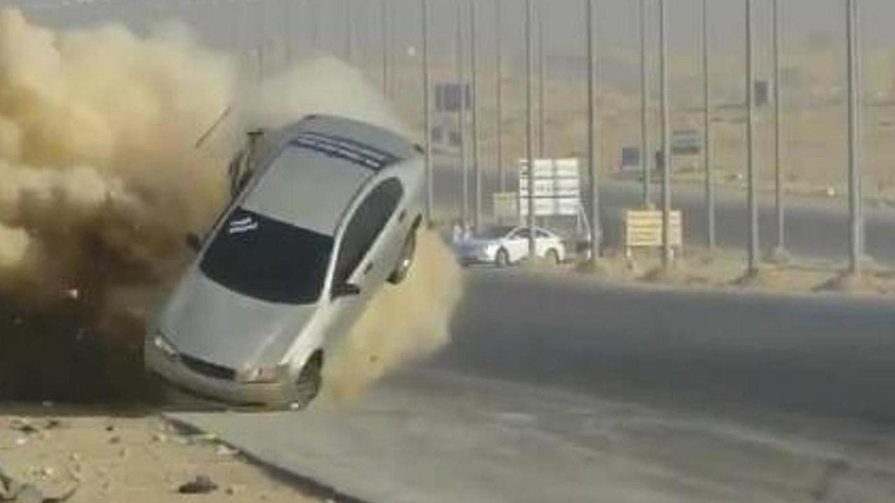 Saudi Arabia drift accident