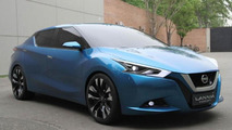 Nissan Lannia concept presented at Beijing Motor Show [video]
