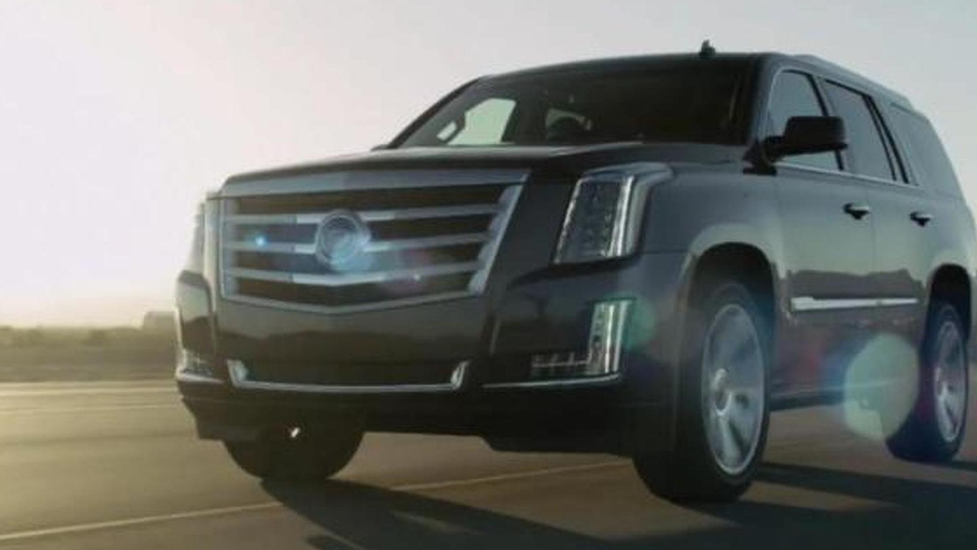 2015 Cadillac Escalade leaked